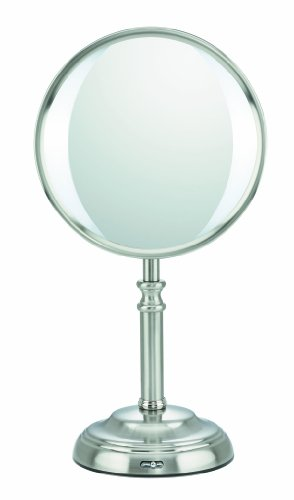 Elite Collection by Conair Variable LED Lighting Mirror, Satin Nickel Finish (Conair Natural Daylight Mirror compare prices)