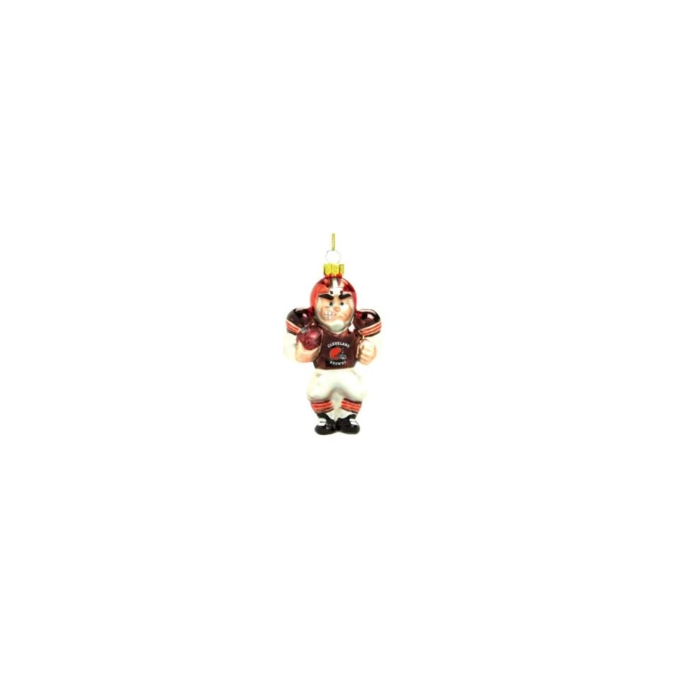 Cleveland Browns NFL Glass Player Ornament (5 Caucasian)