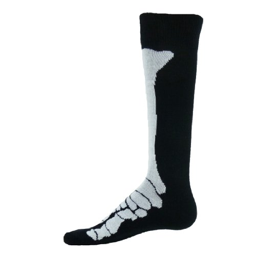 buy Red Lion X Ray Flat Knit Knee High Socks (Black / White - Medium) for sale