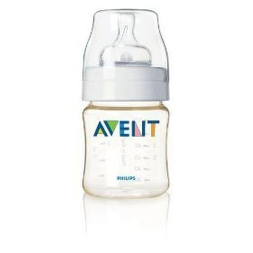 Avent SCF660/17 4oz. Newborn Natural Feeding Flow Nipple Bottle