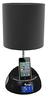 iBRIGHT LLC myLamp iPod/ iPhone Docking Station with FM Radio and Alarm Clock by iBRIGHT LLC