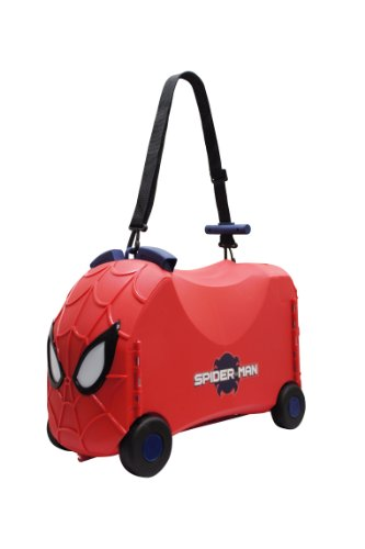 Marvel Spiderman VRUM Ride On Storage Case