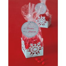 Martha Stewart Crafts Holiday Snowflakes Cello Treat Bags