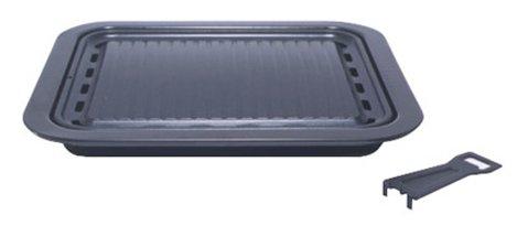 ふっ素樹脂加工 韓国式 カルビ 焼肉 グリル 34×29cm H-3502