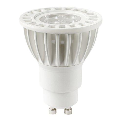 Globe Electric 31809 6-Watt Mr16 Soft White, Led Gu10 Base Light Bulb