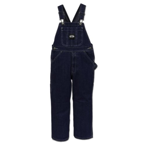 Key Boys' Industries Denim Overalls Denim 10 front-906140