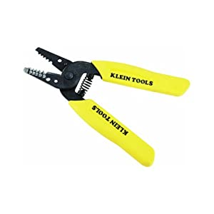 Klein Tools 11045 Wire Stripper/Cutter, Yellow