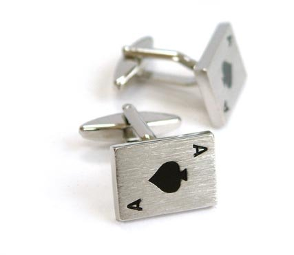 marc-philippe-pair-of-rhodium-plated-silver-effect-ace-of-spades-novelty-metal-cufflinks