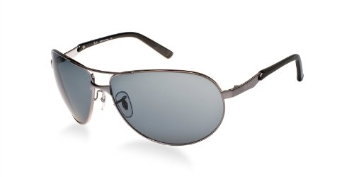 Ray-Ban RB3393 64 Gunmetal/Grey Sunglasses 64mm