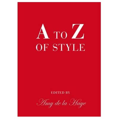 A to Z of Style (Clothbound Hardback)