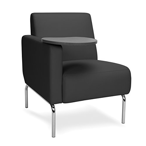 OFM 3001RT PU606 TG Triumph Series Right Arm Modular Lounge Chair with Tungst