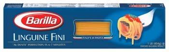 Barilla Linguine Fini Pasta 16 oz