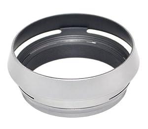 JJC LH-JX100 Silver Metal Lens Hood Adapter Ring for Fujifilm X100 X100S X100T Replace AR-X100