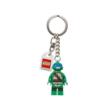 LEGO Teenage Mutant Ninja Turtles Leonardo Keychain - 1