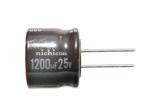 10pcs Nichicon PR 1200uF 25v 105c Radial Electrolytic Capacitor Low ESR promotion 100v 33000mfd electrolytic capacitor radial 33000mfd 100v 65x120mm free shipping