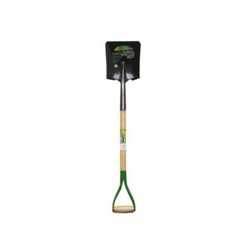 Ames True Temper GT-2 Green Thumb Square Point D-Style Handle Scooping Shovel