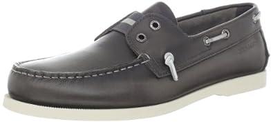 (满分)顶级船鞋 Sebago 仕品高男士高级一脚蹬休闲鞋灰Wharf Slip On 曲未更 $78.28