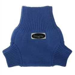 Imagine Baby Products Knit Wool Cover, Indigo, Small
