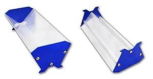 Emulsion Scoop Coater Silk Screen Printing Aluminum Coating Tools DIY Apply (10 inch (25 cm))