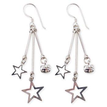Hello Kitty Star Burst Earrings