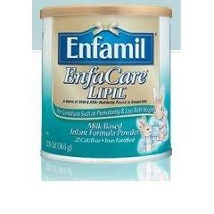 Enfamil Enfacare Lipil - Milk Based Formula - Powder - 12.8 Oz Can - Case Of 6