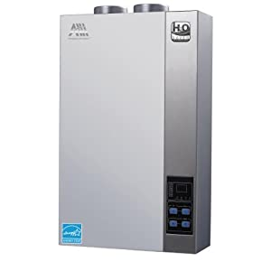 american hometec ahgt42 ng gas h2o saver technology ahgt42 ng propane tankless water heater with 42 gpm at 45f for household of 13 energy star