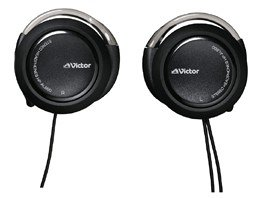 JVC Victor Armless Stereo Headphones | HP-AL600-B Black (japan import)