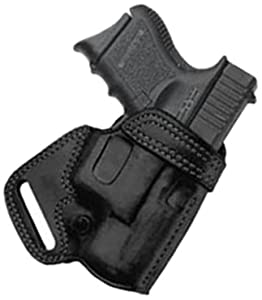 Galco SOB Small Of Back Holster for 1911 5-Inch Colt, Kimber, Para, Springfield (Black, Right-hand)