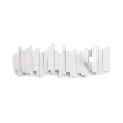 Umbra Sticks 5-Hook Wall Hook, White (Cool Hat Racks compare prices)