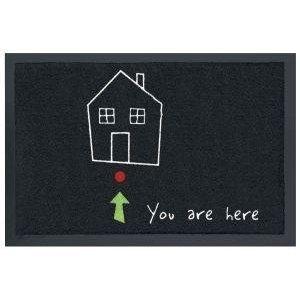 """Contec FS1003828591 - Zerbino """"You are Here"""", 40 x 60 cm"""