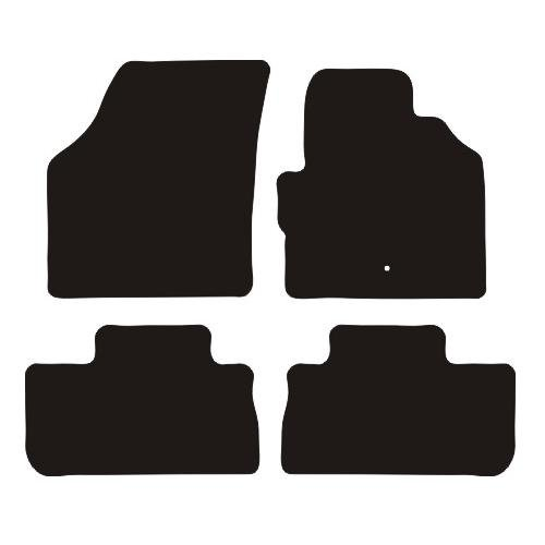 LANDROVER FREELANDER MK2 RUBBER CAR MATS 2006-