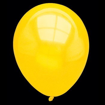 Citrine Yellow Latex Balloons (2 dz)