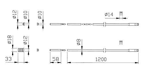 iseo-performa-990851-coppia-aste-dritte-interne-tubo-zincato-8x1200mm-serratura-aggancio-asola-innes