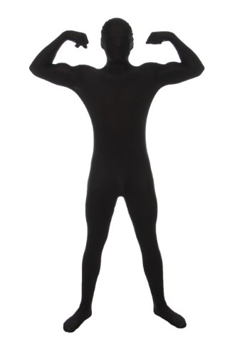 Black Full Body Suit - Adult XL