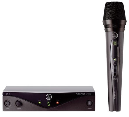 AKG WMS45 Perception Handheld Wireless Vocal System (Band A)