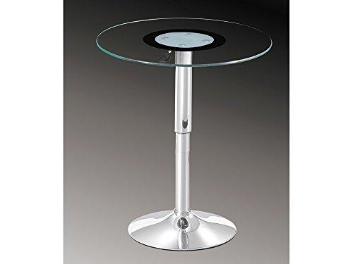 glastisch rund h henverstellbar com forafrica. Black Bedroom Furniture Sets. Home Design Ideas