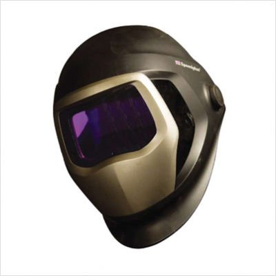 "Hornell Speedglas 06-0100-20SW 9100 Series Welding Helmet With 9100X 2.1"" X 4.2"" Shades 5 And 8 - 13 Auto Darkening Lens And Side Windows"