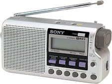 Sony ICF-M33RDSS.CE7 Radio portable AM/FM Argent