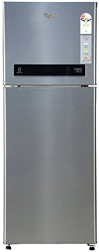 Whirlpool Neo DF258 Roy Frost-free Double-door Refrigerator (245 Ltrs, 2 Star Rating, Illusia Steel)