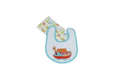 Maison Chic Noah'S Ark Boxed Bib & Burp Gift Set 11566 front-391839