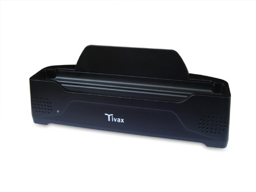 Tivax HiRez7-DS Docking Station for HiRez7 Widescreen 7-Inch Digital LCD TV (Black)