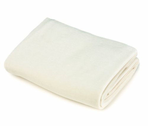Imagen de American Baby Cotton Company Velour Crib Sheet Natural, Natural