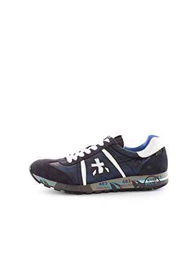 PREMIATA LUCY 1795 BLUE WHITE SNEAKERS Uomo BLUE WHITE 43