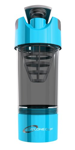 Cyclone Cup Shaker Bottle, Light Blue 20 Oz (Ffp)