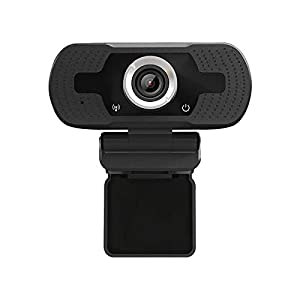 Anivia 1080p HD Webcam W8, USB Desktop Laptop Camera, Mini Plug and Play Video Calling Computer Camera, Built-in Mic, Flexible Rotatable Clip (Color: 1080P Webcam, Tamaño: W8)