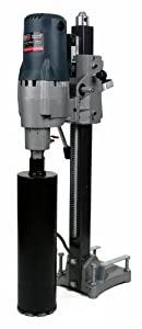 """SDT 185 Wet Core Drill Stand Concrete Boring Rig 8"""" w/ Powerful 3500 Watt Motor by Steel Dragon Tools"""