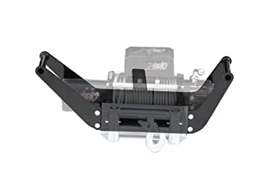 Smittybilt 2811 Textured Black Winch Cradle for 8,000 lb. - 12,000 lb. Winches