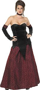 Crimson Vampira Adult Size Costume
