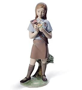 Lladro Girl Scout Brownie