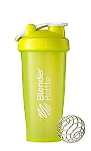 BlenderBottle Classic Loop Top Shaker Bottle, Green/Green, 28-Ounce Loop Top